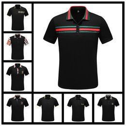 Retail Polo Australia - Polo Ralphmen Men Shirt Men's Fashion Short Sleeve Tee Shirts Good Quality Retail Camisa Polo Mascu MT212 Wholesale