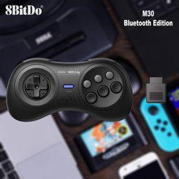 Discount sega genesis - 8BitDo M30 2.4G Wireless Gamepad for Sega Genesis Mega Drive Style for Switch macOS Android Steam Xiaomi smartphone