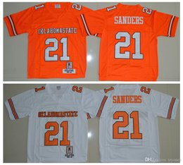 OklahOma state jersey online shopping - Mens Vintage Oklahoma State Barry Sanders College Football Jerseys Cheap Barry Sanders University Stitched Football Shirt