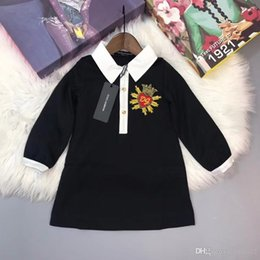 145b9c18f78d3a Crown baby Clothes online shopping - 2d Baby Girls Dress New Fashion autumn  Dresses for Kids