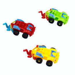 mini racing cars 2019 - Baby DIY Racing Car Model Toy Plastic Kids Diecasts Vehicles Toy Children Handmade Mini Motorcycle Assembled Toys Child