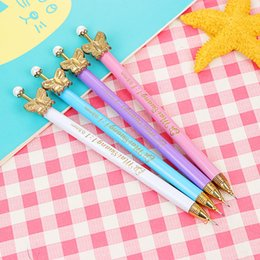 $enCountryForm.capitalKeyWord Australia - Coloffice Creative butterfly Automatic Drafting Pencil Real Hot Sale high quality Loose 0.5mm 0.7mm Mechanical Pencil Kids Gift