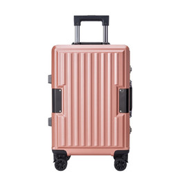 spinner pink Australia - PC Spinner Men International Trolley Suitcase Wheels Aluminium Frame Luggage