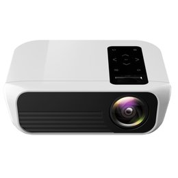 theater remote control NZ - T8 1920x1080 Portable Home Theater Office Full HD Mini LED Projector with Remote Control, Built-in Speaker, Support USB   HDMI   AV   IR, Sa