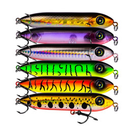 $enCountryForm.capitalKeyWord Australia - 1pcs Snake Head Pencil Bait 8 Colors 10cm 11.5g Fishing Lure Floating Crankbait Sea Bass Pike Topwater 3d Eyes Plastic Wobbler