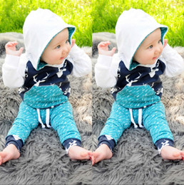 reindeer christmas suit NZ - Christmas Kids Baby Girls Boys Reindeer Hooded Tops +Pants Outfits Set 2pcs suit baby boy clothes newborn