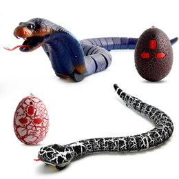 $enCountryForm.capitalKeyWord Australia - Hot sale Black Simulation Remote Control Snake Rattlesnake Animal Trick Terrifying Mischief Toy snake Black