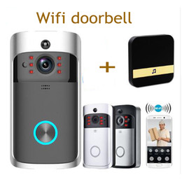 Doorbell security online shopping - Smart WiFi Security video DoorBell with Visual Recording Low Power Consumption Remote Home Monitoring Night Vision Video Door Phone