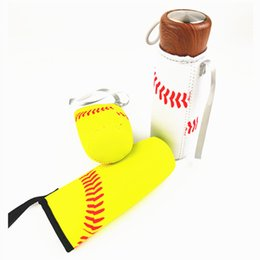$enCountryForm.capitalKeyWord Australia - Wholesale Baseball Sport Water Bottle Cover Neoprene Insulator Cup Sleeve Bag Case Pouch Free Shipping WB286