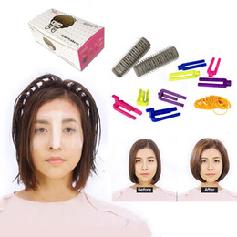 Set Hair Curls Roller Australia - Fluffy Hair Cold Perm Rods Magic Air Bang Styling Bars Hair Rollers Kit Morgan Perm Curling Hair Curlers & Clips Tool Set UN966