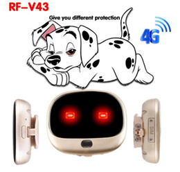 free cell phone gps UK - 4G GPS personal tracker mini GPS pets tracker 4G LTE 3G WCDMA 2G GSM best dog gps tracker with Free APP waterproof