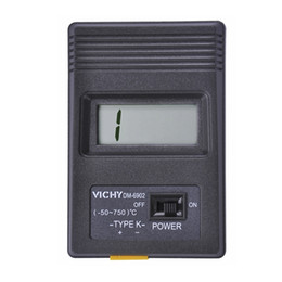 $enCountryForm.capitalKeyWord Australia - Vici Digital K-type Thermocouple Thermometer -50~750 Celsius Portable LCD Temperature Meter Thermocouple Sensor Probe DM-6902