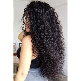 upart human hair wig curly 2019 - Kinky Curly U Part Wigs 9A Top Quality Brazilian Virgin Human Hair Upart Wigs 1*3 Middle Part For Black Women cheap upar