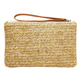 $enCountryForm.capitalKeyWord Canada - Summer Straw Bag Women Shoulder Pack Leisure Travel Beach Weaving Bohemian Clutch Pouch Female HandBag Tote
