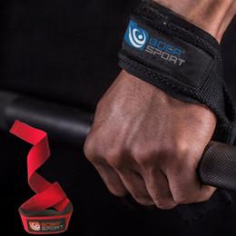 $enCountryForm.capitalKeyWord NZ - Lifting Straps Wrist Protector Gears Anti-slip Bracers Weightlifting Bodybuilding Strength Training Workout Accessory