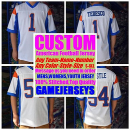92a988dfe Custom american football jerseys college cheap authentic customize soccer  sports jersey stitched mens womens youth kids 4xl 5xl 6xl 7xl 8xl