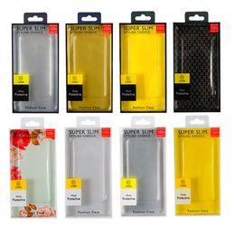 Универсальный ПВХ телефон случае розничной упаковки коробки для Iphone 11 про хт х хз макс 6 7 8 плюс окно блистерной упаковки для Samsung S8 S9 S10 PLUS на Распродаже