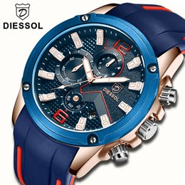 $enCountryForm.capitalKeyWord Canada - DIESSOL Watch Men Fashion Sports Quartz Clock Mens Watches Top Brand Luxury Rubber Business Waterproof Watch Relogio Masculino