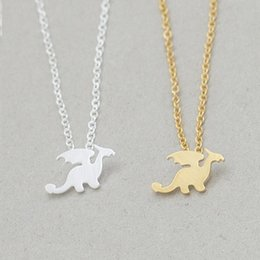49a9cfebd Flame Pendant Necklace Australia - Hot Fashion Movie Jewelry Individuality  Trendy Brave Man Flame Dragon Necklace
