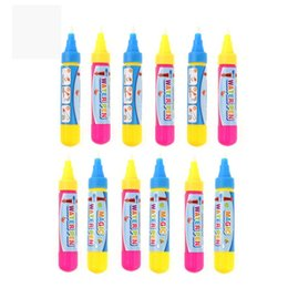 Water Doodle Painting Australia - Water Drawing Painting Pens Replacement Water Pink,Blue Pens for painting, Doodling Drawing Mat