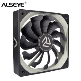 pc cooling fan Canada - Fans & ALSEYE S-120 PC Fan 120mm High Air Flow Cooler 12V 3pin Cooling Fans for PC Case, CPU Cooler, Water Cooling