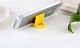 $enCountryForm.capitalKeyWord Australia - Folding mobile phone bracket beach chair L-type double-gear mobile phone bracket universal color folding bracket Free DHL