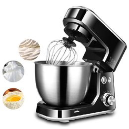 Discount bread machines - Beijamei 4 L 6-speed Stand Food Mixers Electric Cream Egg Whisk Blender Cake Dough Bread Mixer Maker Machine