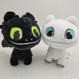 $enCountryForm.capitalKeyWord NZ - 16cm (6.3 inch) How to Train Your Dragon 3 Plush Toy Toothless Light Fury Soft Dragon Stuffed Animals Doll 2019 New Movie 2 Colors C6388