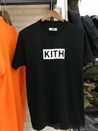22 Shirt Australia - kith mens t shirt KITH t shirts box logo brand luxury high quality Classic Leisure men womens tshirt Embroidery printing Street Wild tees 22