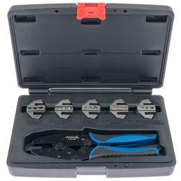 Обжимной инструмент обжимные плоскогубцы набор из 6 шт. Изменение челюсти волочения щипцы пресс щипцы