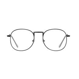 15efe3532f6 Blue Light Filter Eyewear - Computer TV Anti-radiation Optical Glasses  Metal Round Frame Clear Lens Eyeglasses Unisex Vintage Go