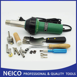 Wholesale NEW Flooring Hot Air Tools PVC Vinyl Floor Welding Kits V V W Heat Gun