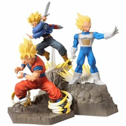 Figures Australia - Dragon Ball Z Absolute Perfection Vegeta Goku Trunks Action Figure Toy Doll Brinquedos Figurals Collection DBZ Model Gift NB