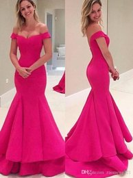 $enCountryForm.capitalKeyWord Australia - 2019 houlder Prom Dress,Hot Pink Prom Dresses,High Quality Graduation Dresses,Wedding Guest Prom Gowns,Formal Dress