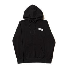 Discount top brand clothing men - Mens Fashion Brand Hooded Sweatshirts Sandwich Triangle Pattern Print Hoodies Tops Hommes Loose Hip Hop Hoodies Clothing