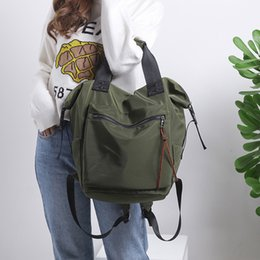 $enCountryForm.capitalKeyWord NZ - Casual Nylon Waterproof Backpack Women High Capacity Travel Book Bags For Teenage Girls Students Pink Satchel Mochila Bolsa 2019 Y19061004