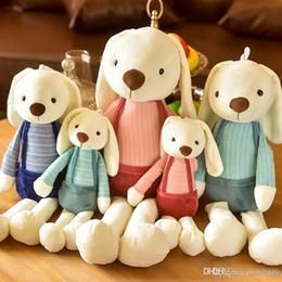 $enCountryForm.capitalKeyWord Australia - Lovely plush toy long ears rabbit dolls Stuffed Animals Children toys Couples hold pillow Christmas gift wholesale11