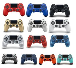 Sony Ps4 Wireless Controller Australia - 14 colors PS4 Wireless Controller For Sony PlayStation 4 Game System Gaming Controllers Games Joystick with Logo Retail Box dhl free