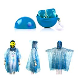 $enCountryForm.capitalKeyWord Australia - 1Pcs Portable Disposable Raincoat Poncho Transparent Environmental Light Raincoat Long Use Rain Coat