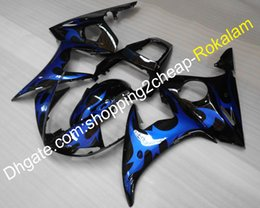 $enCountryForm.capitalKeyWord Australia - Motorbike Fittings For Yamaha cowling YZF-R6 YZFR6 03 04 YZF R6 2003 2004 YZF600 ABS Plastic Motorcycle Fairing (Injection molding)