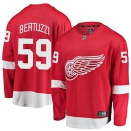 Henrik Zetterberg Detroit Red Kanatları nhl hokey forması Jimmy Howard Niklas Kronwall Gordie Howe buz Hokeyi Formaları ucuz bayan gömlek çocuklar indirimde
