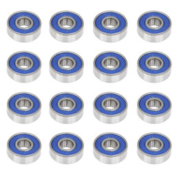 Опт 100шт ABEC-9 608-2RS роликоподшипники с подшипником 608RS 608 2RS роликоподшипник роликовый подшипник 8 * 22 * 7 мм скейтборд шарикоподшипники