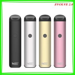$enCountryForm.capitalKeyWord NZ - New YOCAN EVOLVE 2.0 Kit System 650mAh Preheat Battery 3 in 1 Concentrate Juice Oil Pods Slim Vape Pen Kits Authentic