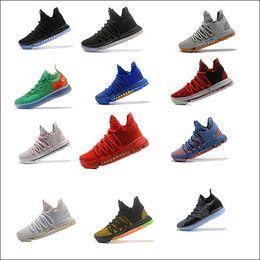 kd casual shoes 2019 - Cheap KD 11Paranoid EP Elite causal Shoes KD 11s Men Multicolor Peach Jam Mens Doernbecher Kevin KD 10 casual shoes chea