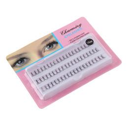Chinese  Nova Moda Individual False Fake 60 Stand Eyelashes Corner Flare Cluster Lashes Clios Postios zsmw manufacturers