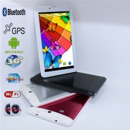"Cheap Phone Tablet Pc Australia - Sale!!!7"" Mini Cheap Tablet pc Andriod 4.2 MTK6572 512MB 4GB Dual Core 3G Phone call Dual SIM GPS wifi buletooth GSM WCDMA"
