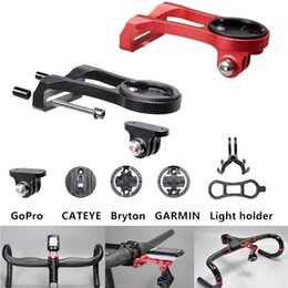 Gopro Bicycle Australia - bike Computer Camera Mount Holder Out front bike Mount from Bicycle mount accessories for iGPSPORT Garmin Bryton GoPro #297957