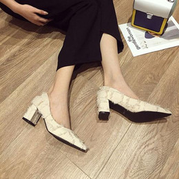 """$enCountryForm.capitalKeyWord NZ - winter of 2019 Comfortable career women""""s water resistant dress shoes supplier dress shoes woman black, apricot 5998"""
