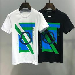 luxury designer l 2019 - 2019 New Summer Mens Designer T Shirts Fashion Print High Quality Luxury Shirt Cotton Anti-Pilling Round Neck T Shirt Pu