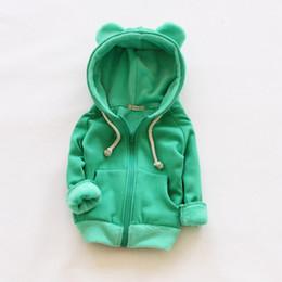 Girls fleece hoodie online shopping - V TREE Girls Jacket Coat Fleece Girls Hoodies Spring Autumn Kids Sweatshirt Warm Tops Coat Zipper Clothes Baby Clothes